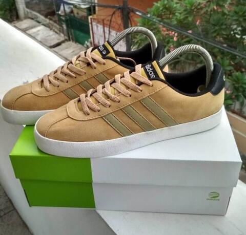 "Adidas VL Court Suede ""Khaki"""