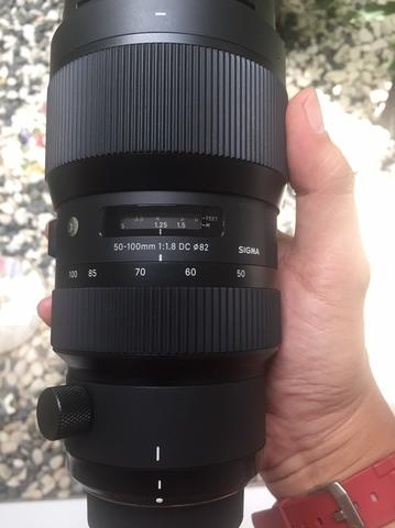 SIGMA ART 50-100 mm f 1.8 DC for NIKON