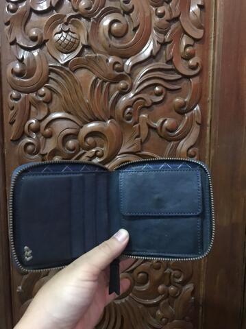 Bluesville zip wallet (not sage,voyej,oldblue,ironheart,leather,visvim,publicculture)