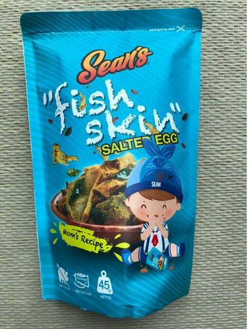 Sean's Fish Skin Salted Egg Flavor