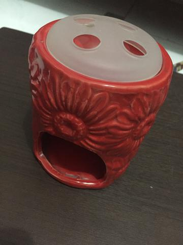 Candle Holder Aromatherapy Ace Hardware Red