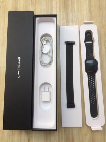 Apple Watch 2 Nike Edition Fullset garansi