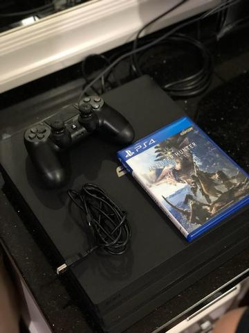 PS4 Pro 1TB Bonus Game Monster Hunter Collector Edition