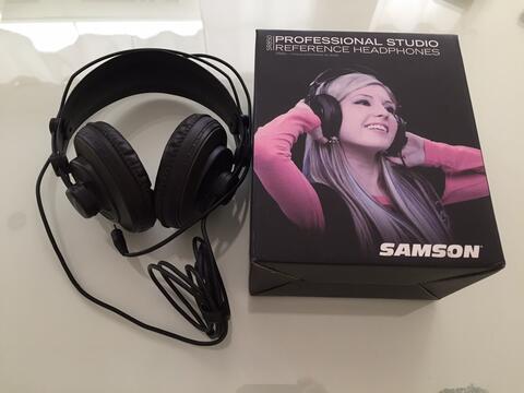 headphone Samson Professional Studio SR850