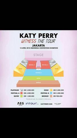 Tiket Katy Perry