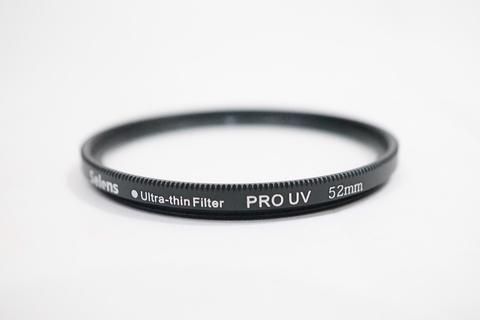 Selens Lens Filter - 52mm Ultra Thin UV Ultra Violet Protector Filter 52 mm