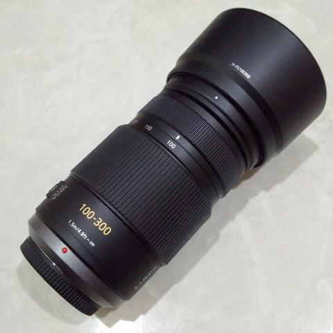 [CAKIM] WTS lensa Panasonic Lumix 100-300mm F4-5.6 OIS like new