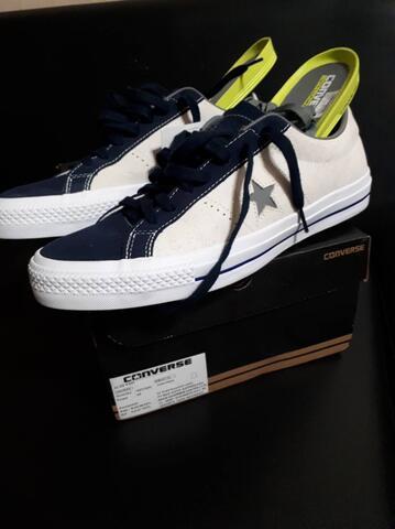Sepatu CONVERSE One Star PRO OX 44 Putih