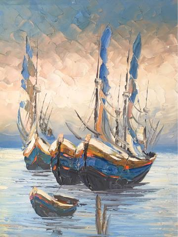 Lukisan Perahu