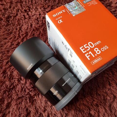 Sony E 50mm F1.8 OSS - Black