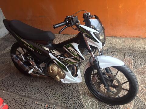 Satria fu facelift 2014