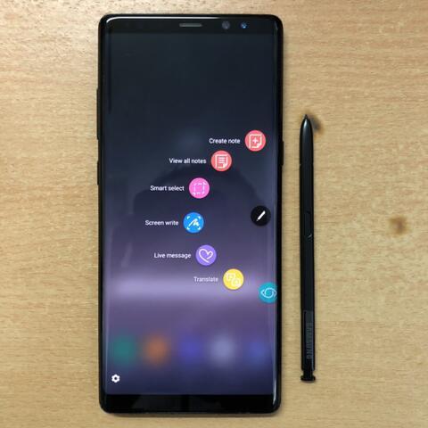 Samsung Galaxy Note 8 single sim 64GB Super Mulus Like new sebatang Kara ex USA