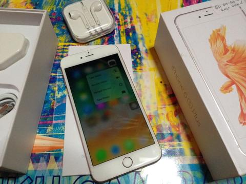 iphone 6s plus 64gb rosegold No minus fu fullset second terawat cod bandung