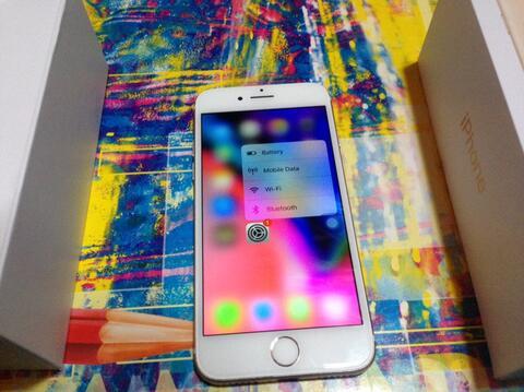 iPhone 7 128Gb Gold fullset fu mantap terawat No minus second cod bandung