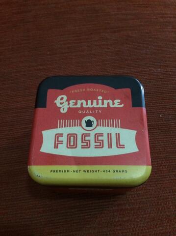 Wts jam tangan fossil tali kulit