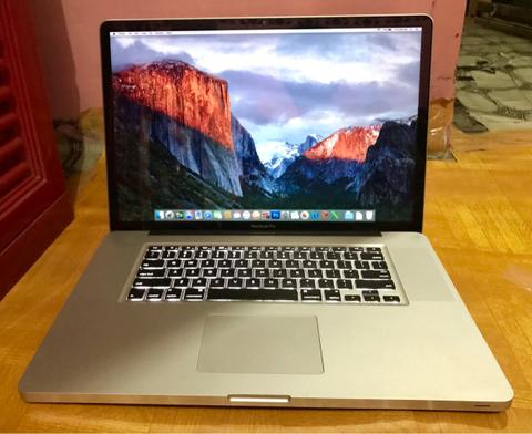 MacBook Pro 17 Core i7 Late 2011