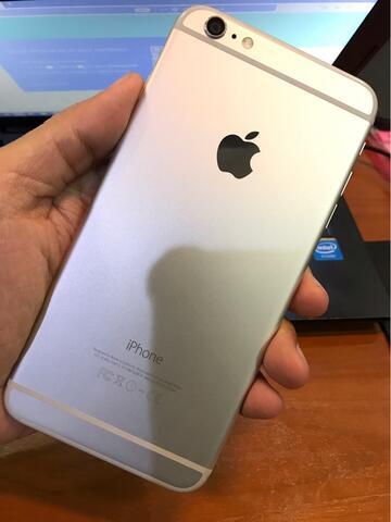 Iphone 6 Plus 64GB Silver mulus banget ex IBOX