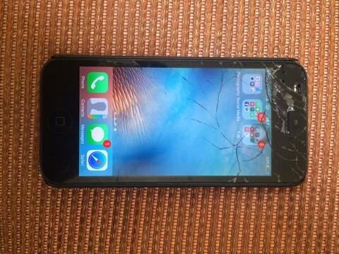iphone 5 black 32gb ex inter apa adanya minus murah