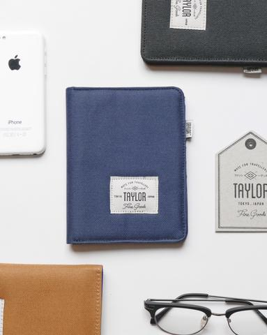 Taylor Fine Goods Passport Cover Blue