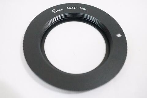 Pixco Macro Lens Adapter - Lensa M42 To Body Nikon / M42 - Nikon