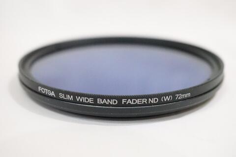 FOTGA Slim Blue Fader Variable Adjustable 72 mm ND Filter ND2 to ND400 72mm