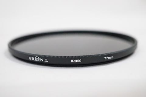 Green-L 77mm 77 mm Infrared infra Red IR Filter 950nm 950