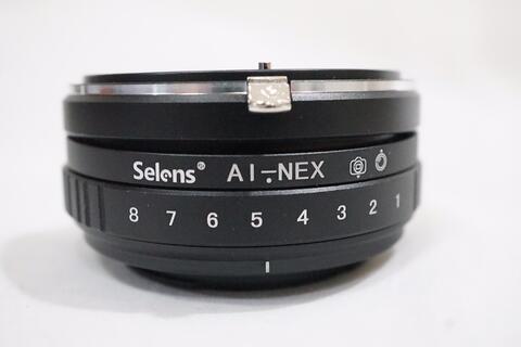 Selens Tilt Lens Adapter Lensa Nikon AI To Sony emount / NIKON - NEX TILT