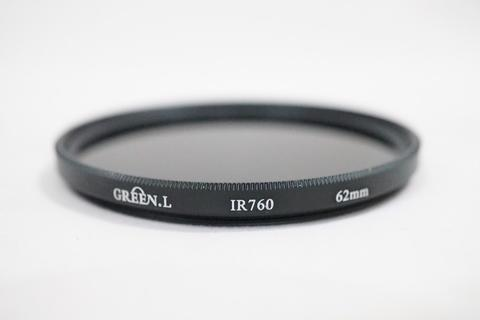 Green-L 62mm 62 mm Infrared infra Red IR Filter 760nm 760
