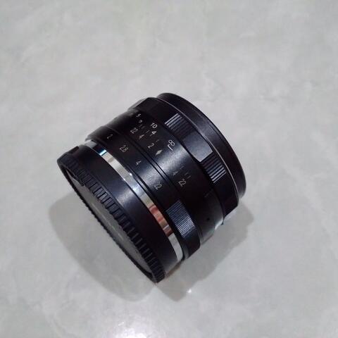 [CAKIM] WTS lensa Meike 35mm F1.7 for Sony E mount like new masih garansi