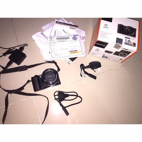 Jual Kamera Mirrorless Sony a5000 Murah