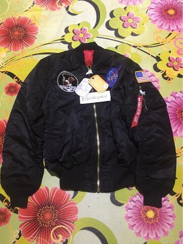 Alpha Industries ma-1 apollo nasa bomber jacket