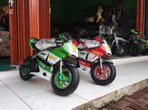 motor mini gp mainan anak 50cc bensin