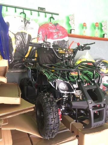 mini atv 50cc matic bensin mainan anak offroad
