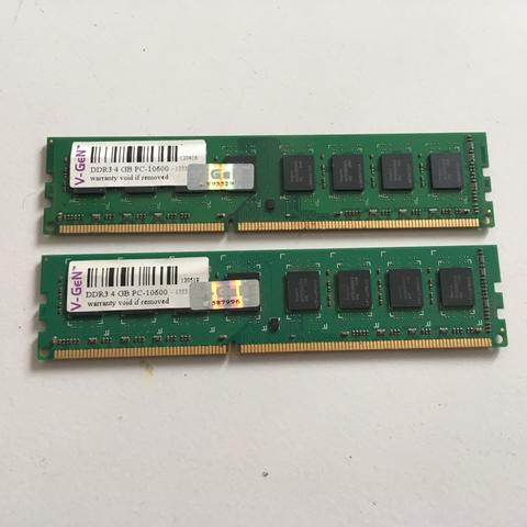 RAM VGEN 4GB DDR3 PC 10600 x2 keping Murah