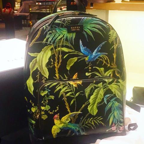 GUCCI Leather Backpack Limited Fullset