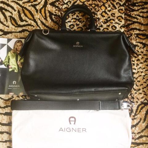 AIGNER Leather Bag Murah!