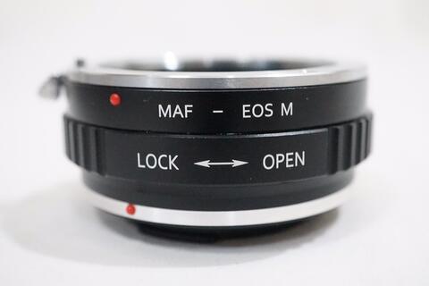 K&F Lens Adapter - Lensa Sony Minolta AF to Canon EOS M EF-M / AF - EOSM