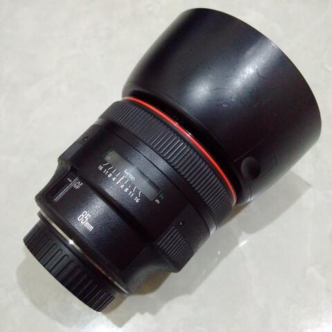 [CAKIM] WTS lensa Canon EF 85mm F1.2 L II USM kode UA mulus