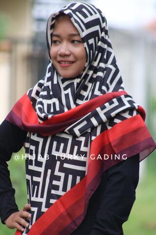 Hijab Turky Asli