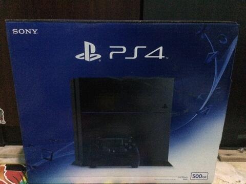 PS 4 Jet Black Slim 500gb