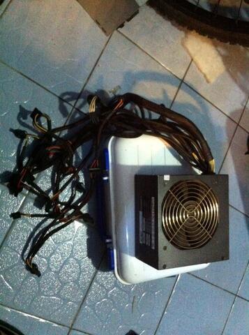 psu pc ower Supply Black Silver ENLIGHT 650 Watt