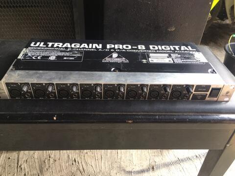 behringer ultragain pro 8 digital