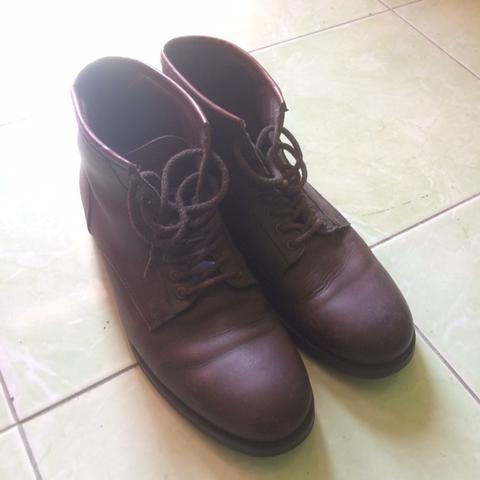 zara man leather boots