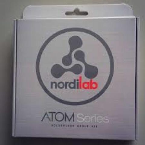 BRAND NEW: Nordilab Atom Solderless Patch Cable Kit (Japan made)