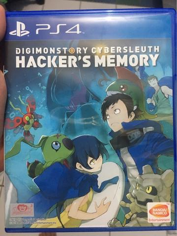jual bd ps4 digimon hacker's memory