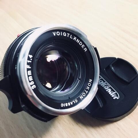 Voigtlander 35mm f1.4 nokton classic mc very mint condition leica M mount