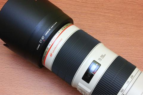 Canon EF 70-200 F2.8 L IS II USM Mulus Sekali Fullset Ex Ds