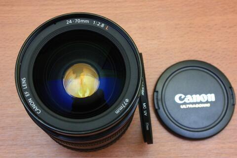 Canon EF 24-70 F2.8 L USM Kode UZ Mulus Sekali