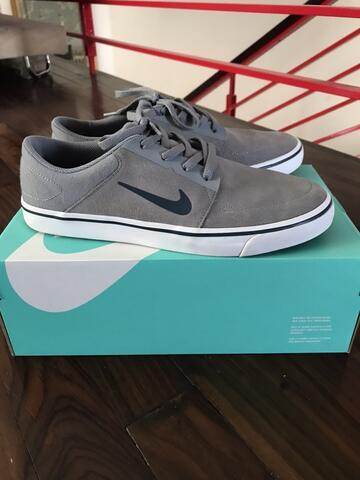 Nike SB Portmore Grey Suede