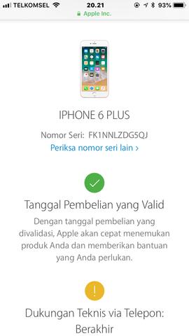 Dijual Cepat Iphone 6 Gold 64GB FU Ori Lengkap LTE Mulus